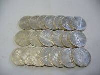LOT OF  20 1963  CANADA  SILVER  1$  ONE DOLLAR  COINS  SILVER  SEE PHOTOS