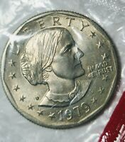 SUSAN B ANTHONY LIBERTY 1979 D ONE DOLLAR  U.S. MINT COIN UNGRADED  FIND