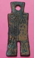 ANCIENT CHINA MONEY   BRONZE HOE COIN   SHANG DYNASTY