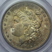 1882-S MORGAN SILVER DOLLAR PCGS MINT STATE 65 CAC OGH