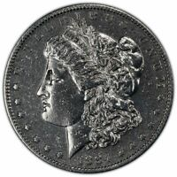 1884-S MORGAN DOLLAR $1 PCGS 7156 GENUINE EXTRA FINE  DETAILS 92 CLEANED 42431915