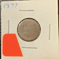 1877 INDIAN HEAD CENT   UNGRADED