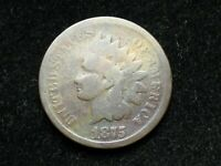 2021 SALE  1875 INDIAN HEAD CENT PENNY COLLECTIBLE CONDITION U.S COIN 33G