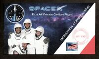 INSPIRATION 4 CREW LAUNCHES   SPACEX