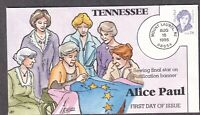 ALICE PAUL FDC HP COLLINS TENNESSEE 2943