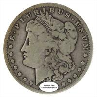 1878 TO 1904 COMMON DATE MORGAN SILVER DOLLAR VG TO VF CONDITION - RANDOM YEARS
