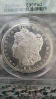 1878 CC $1 MORGAN SILVER DOLLAR PCGS MS64 PL APPEARANCE. FRO