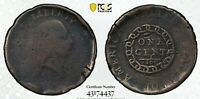 1793 PERIODS S 4 FLOWING HAIR COPPER CHAIN CENT PCGS G DETAI