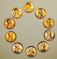 1960S LINCON PROOF SET  EXCEPTIONAL PROOF CAMEOS  $$THE BEST