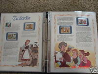DISNEY MOVIE COLLECTOR STAMP COLLECTOR PANEL SET