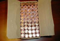 2009 2010 P & D 50 ROLLS PENNY CENT BOX SET OBW  FREE PRIORITY SHIPPING