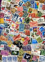USED LOT OF 60  MIXED US STAMPS OFF PAPER   GREAT VALUE WITH A  BONUS OFFER