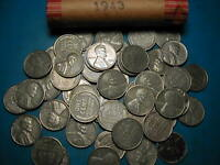 1943 P LINCOLN STEEL WHEAT CENT PENNY ROLL  50 COINS