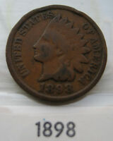 1898 INDIAN HEAD PENNY US IHC CENT  GREAT STARTER IHP COIN FOR YOUR COLLECTION