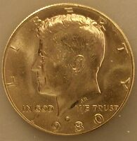 1980 P KENNEDY UNCIRCULATED HALF