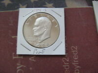 1978 S PROOF EISENHOWER CLAD DOLLAR   NICE GEM CAMEO COIN  A