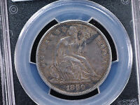 1860 O 50C LIBERTY SEATED HALF DOLLAR PCGS AU DETAILS