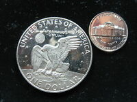 UNITED STATES $ DOLLAR  1978 S NICKEL 1963 PROOF LOT OF 2 U.S.A. AMERICA COIN