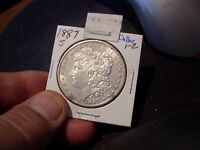 1887-S MORGAN DOLLAR  MINT STATE