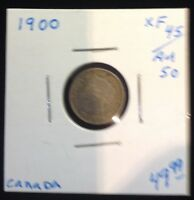 1900 CANADA 5CENTS