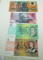 $1 $2 CRISP PAPER NOTE $5 FED AND FIRST $10 POLYMER BANKNOTE SET OF 4  POPULAR