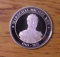 SUPERBE MDAILLE NAPOLON IER MARCHAL MICHEL NEY 1769 1815