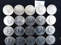 1997 D KENNEDY HALF DOLLAR ROLL 20 COINS