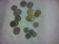 FRANCE COIN LOT   1960S   PRESENT  22 COINS