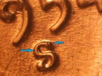 1954 S RPM S/S EAST LINCOLN CENT 'WEXLER:WRPM-003' [CH RED UNC]