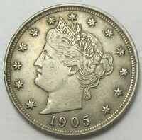 1905 LIBERTY V NICKEL -  FINE  PLEASE SEE PHOTOS MP4821205