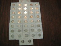 1968 S THRU 2009 S PROOF JEFFERSON NICKELS 44 COINS SHIPPED IN COIN TUBE A130