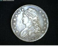 1826 CAPPED BUST SILVER HALF DOLLAR  1804