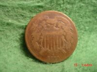 1870  TWO CENT,    GOOD