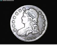 1833 CAPPED BUST SILVER HALF DOLLAR  6131