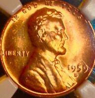 1959 D LINCOLN MEMORIAL CENT..NGC MS 67RED..SALE 50 OFF REDUCED 4/30