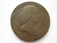 CHESHIRE MACCLESFIELD HALFPENNY TOKEN 1790 DH22