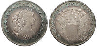 1807 DRAPED BUST 50 CENTS HALF DOLLAR EF