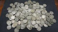 LOT OF 120 THREE ROLLS 35 SILVER WAR NICKELS 1942 1945 BULLION US COINS
