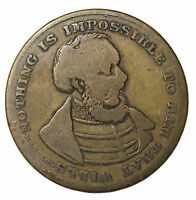 1800S LOUIS KOSSUTH EAGLE UNITED STATES BIRTHPLACE OF FREEDOM GAME COUNTER TOKEN