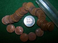 1925 D  ROLL LINCOLN WHEAT PENNIES ROLL IN GOOD-FINE CONDITION   LOT 1   X