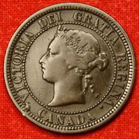 1881 H CANADA LARGE CENT PENNY GREAT COLLECTOR COIN GIFT   $ CALC62