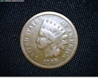 1865 INDIAN HEAD CENT PENNY 1184