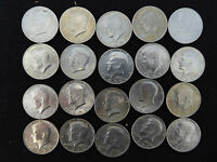 1977 P KENNEDY HALF DOLLAR ROLL 20 COINS
