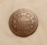 1872 TWO CENTS -