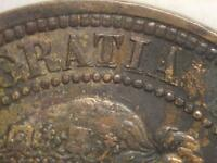 1881 CANADIAN LARGE PENNY HEAVY PUNCH DOUBLING LOT 81HPD