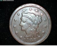 1848 LARGE CENT PENNY 6890