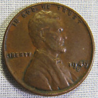 VERY NICE 1949 D LINCOLN WHEAT EARS CENT  WHOTOLDYA LOT 1152016