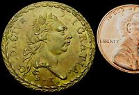 S020: 1800 GEORGE III QUALITY GUINEA TOKEN   SIGNED S & T SEE WARBURTON'S BOOK