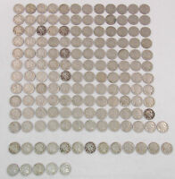 1936 P 1936 D 1936 S  BUFFALO NICKEL 5C LOT OF 151 COINS  1700