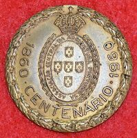 CENTENARY CENTRAL ASSOCIATION OF PORTUGUESE AGRICULTURE 1860 1960 / BRONZE MEDAL